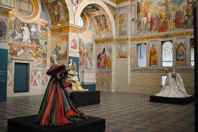 Roberto Capucci at Santa Giulia Museum, Brescia