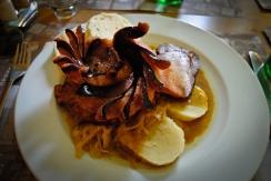 Czech Farmers Plate aka the meat feast