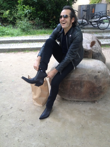 new boots in Berlin